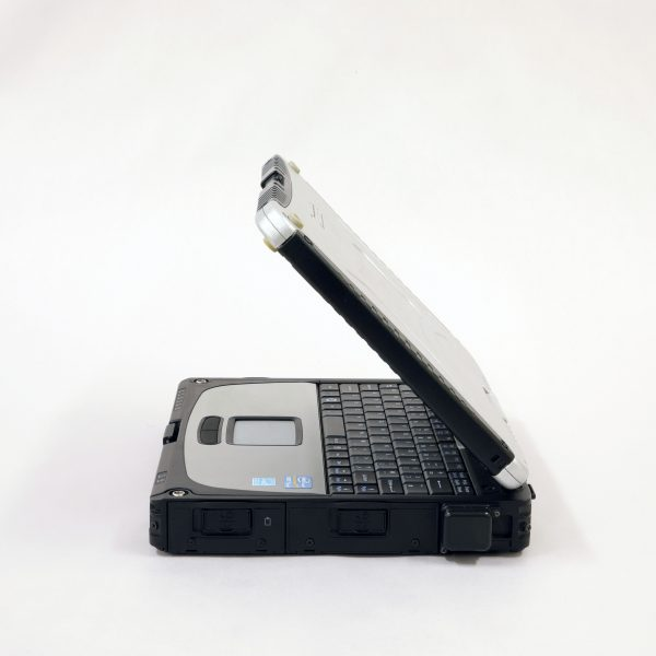 An image displaying the right hand side of a panasonic toughbook cf19