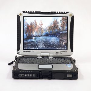 Product image for a panasonic cf19 mk6 fully rugged toughbook
