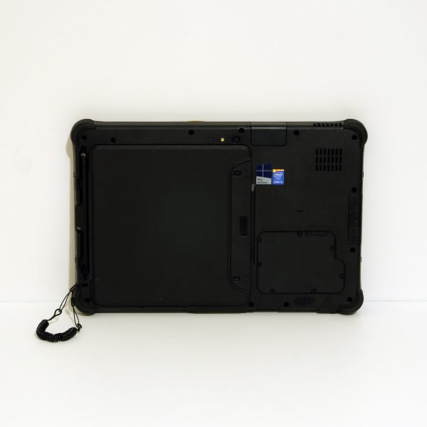 Getac F110 a Rugged laptop designed for Mechanics and Autotive industry use.