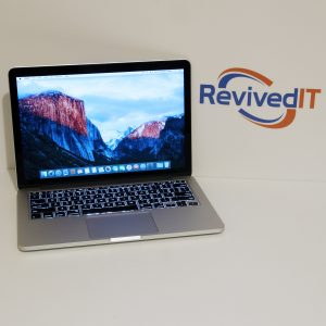 Front Shot of our Refurbished Macbook Pro 13.3""